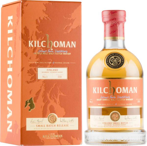 Kilchoman Small Batch Release Finland Single Malt