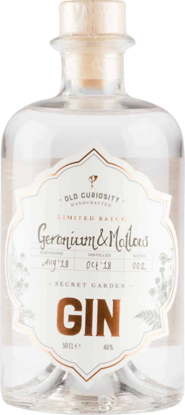 The Old Curiosity Geranium & Mallow Gin