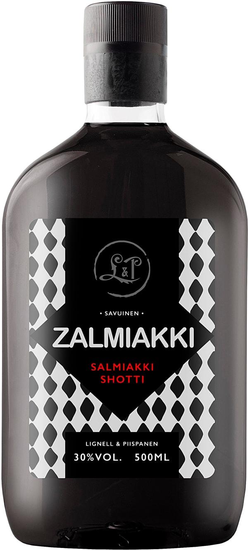Zalmiakki Salmiakki Shotti plastflaska
