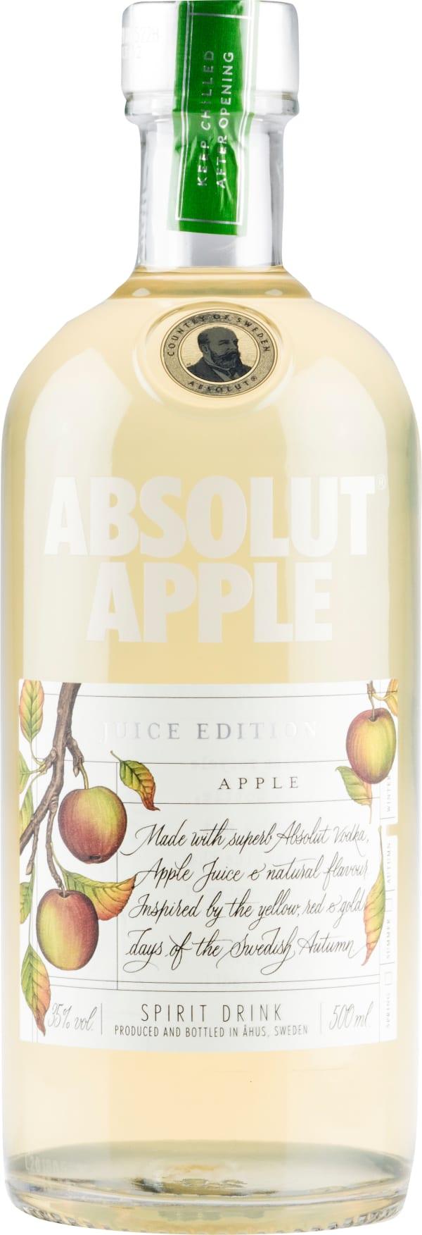 Absolut Juice Edition Apple