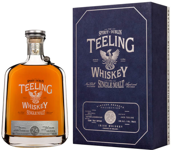Teeling Whiskey 24 Year Old Vintage Reserve Single Malt