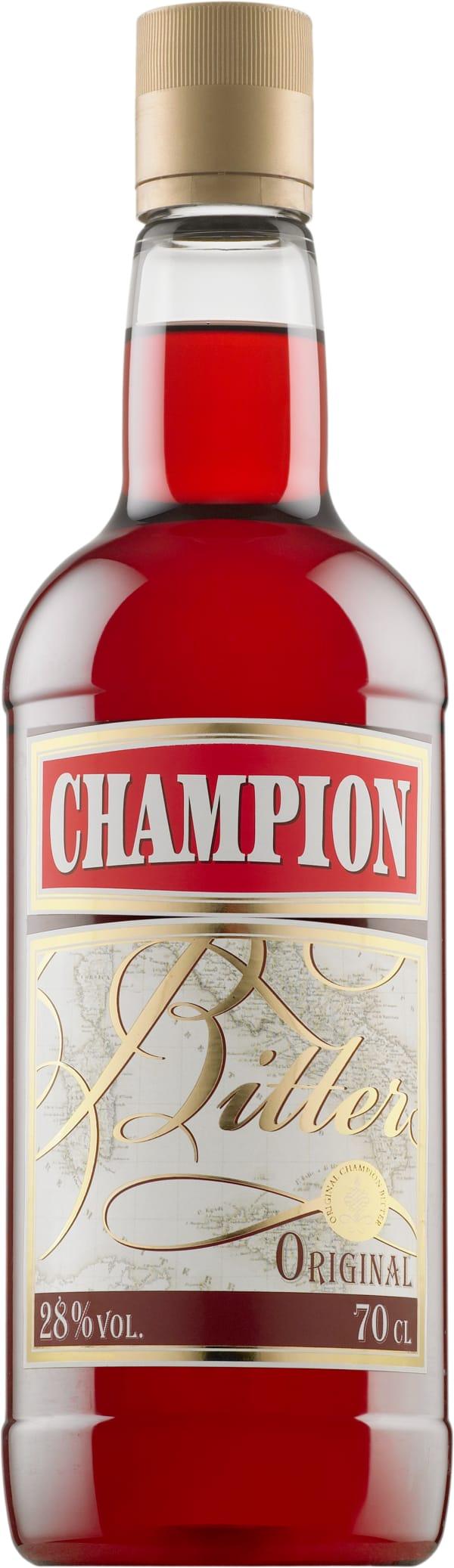 Champion plastic bottle