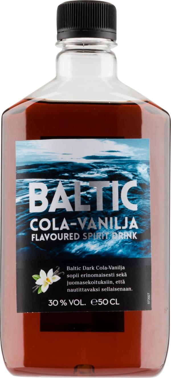 Baltic Dark Cola-Vanilja plastic bottle