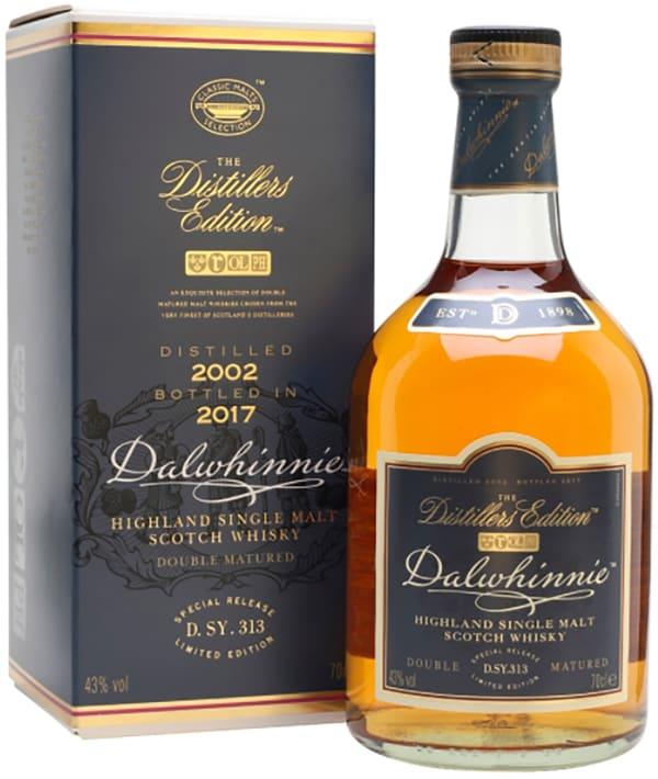 Dalwhinnie Distillers Edition 2017 Single Malt