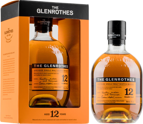 The Glenrothes 12 Year Old Single Malt