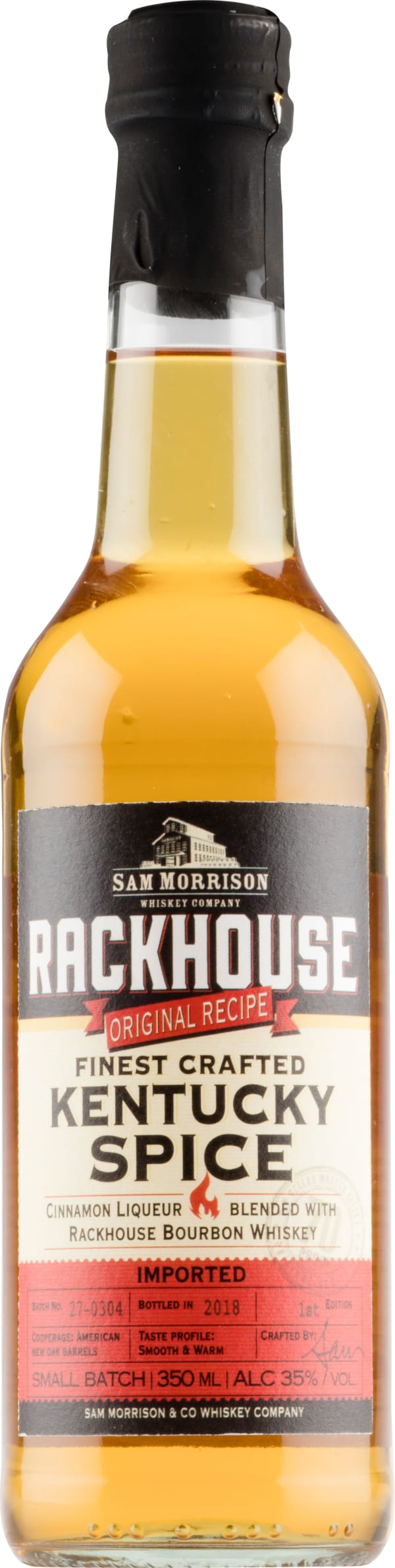 Rackhouse Finest Crafted Kentucky Spice