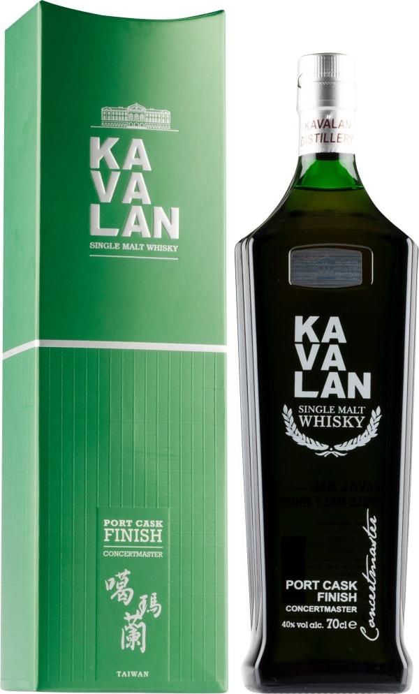 Kavalan Concertmaster Port Cask Finish Single Malt