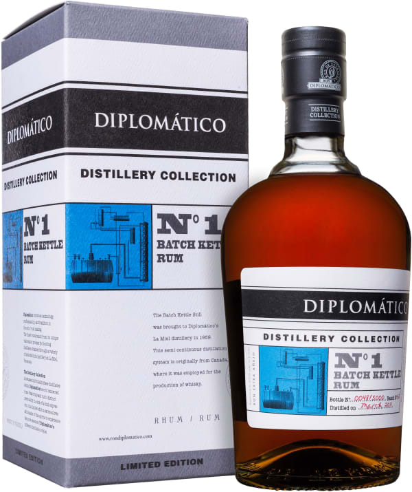 Diplomático Distillery Collection No 1 Batch Kettle Rum