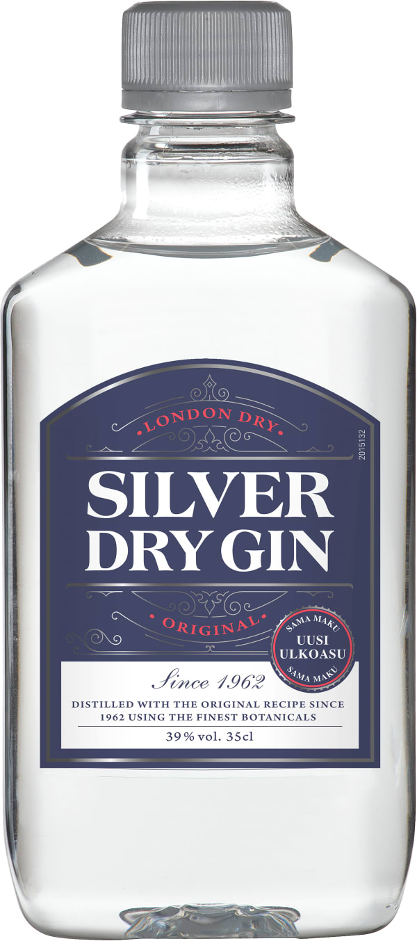 Silver Dry Gin plastflaska
