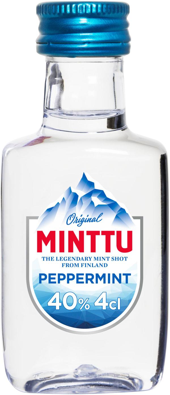 Minttu Peppermint plastflaska