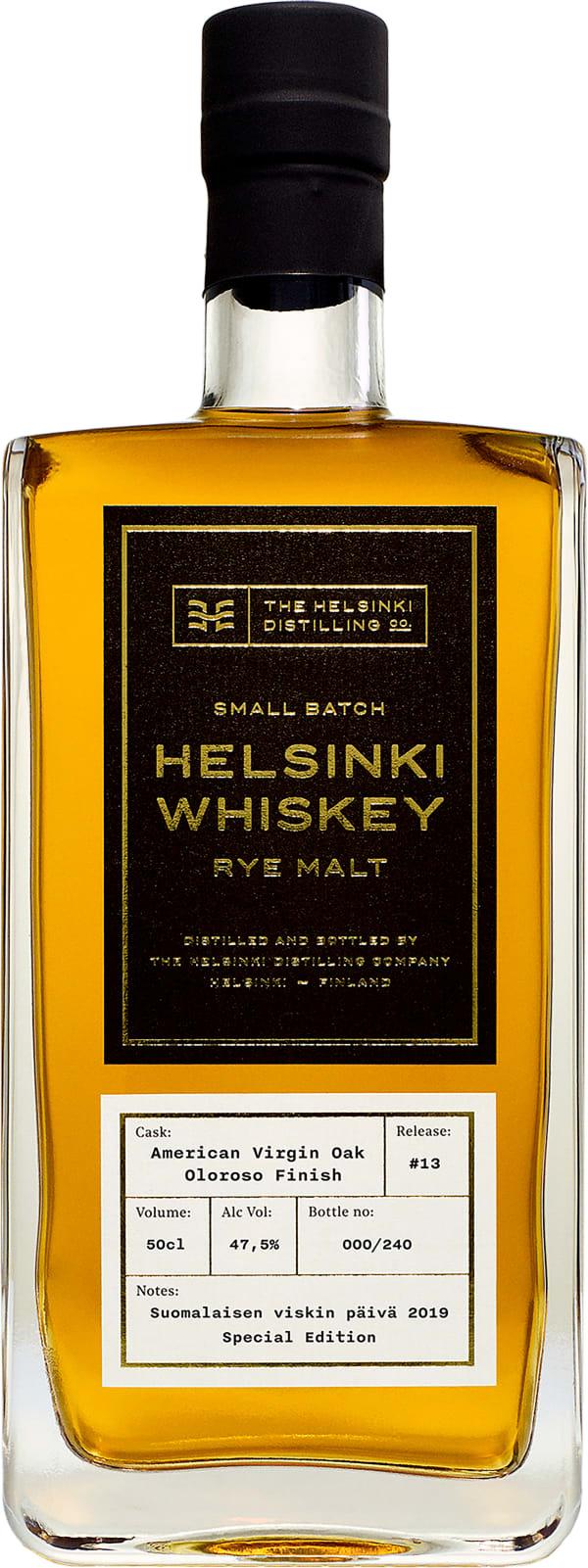 Helsinki Whiskey Release #13 Oloroso Finish Rye Malt
