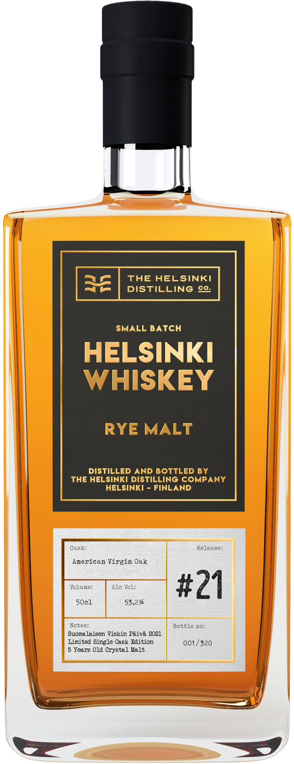 Helsinki Whiskey Rye Malt Release #21