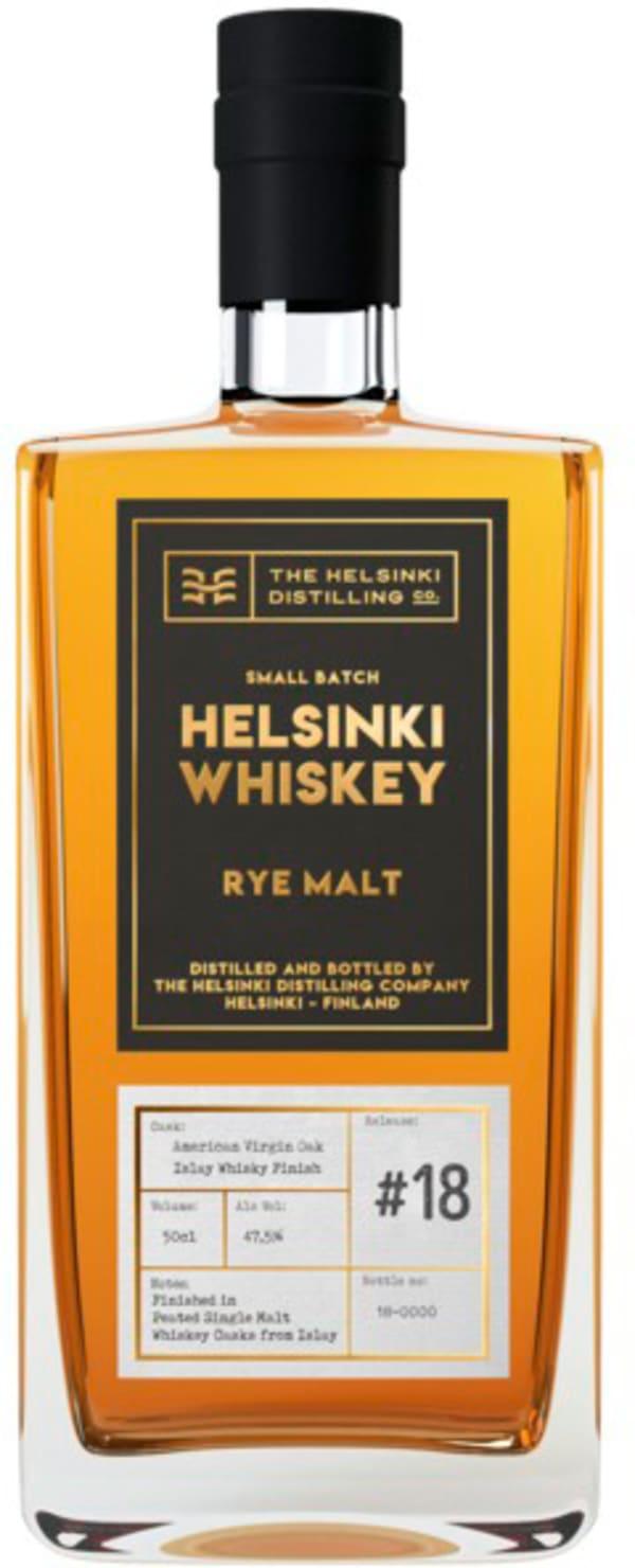 Helsinki Whiskey Rye Malt Islay Whisky Finish Release #18