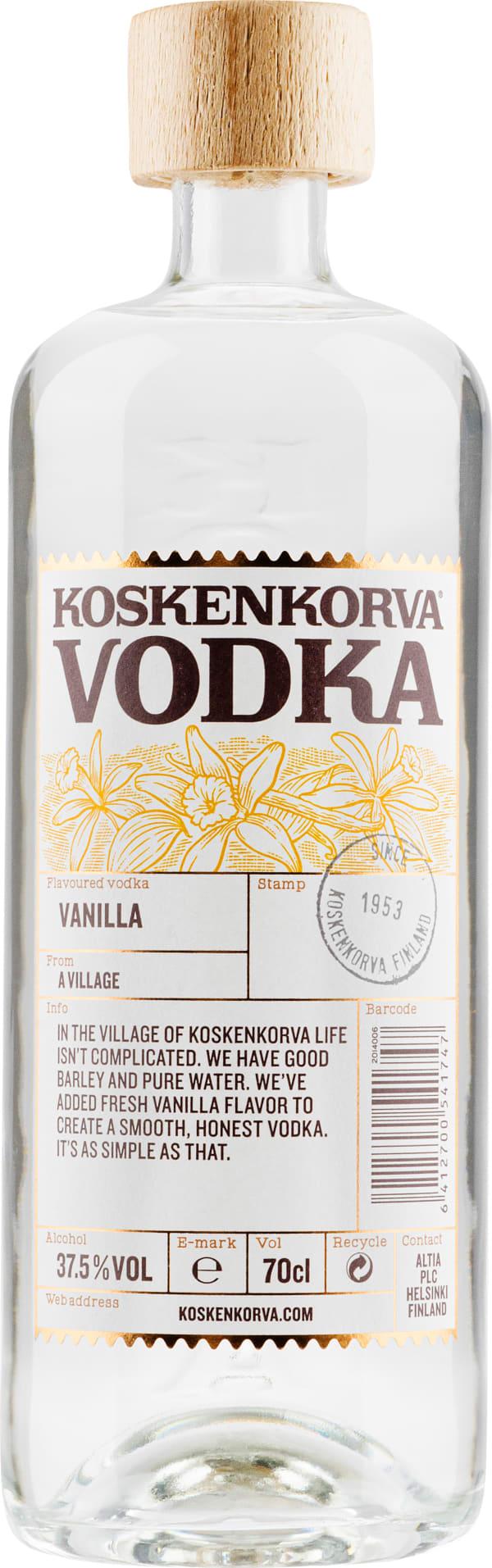 Koskenkorva Vodka Vanilla
