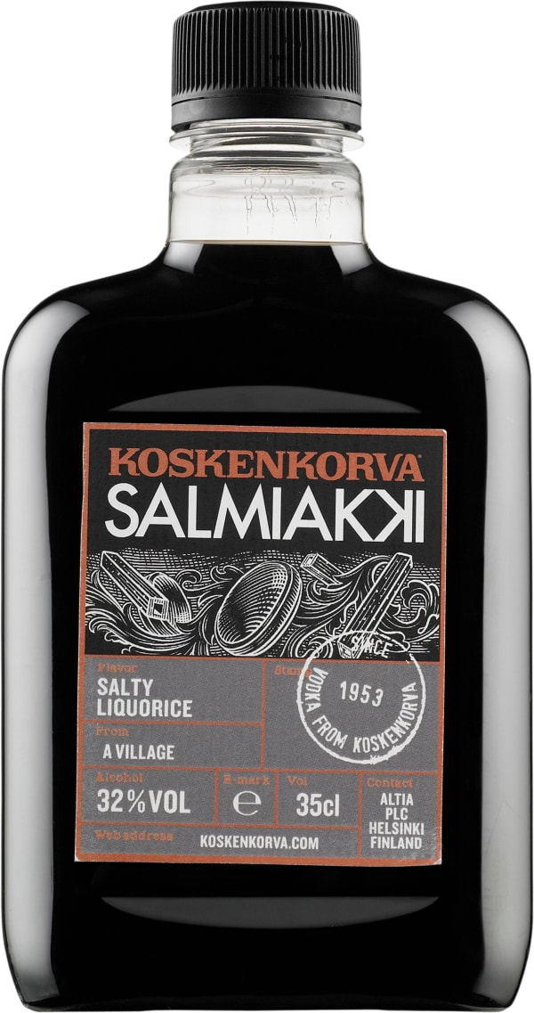 Koskenkorva Salmiakki plastic bottle
