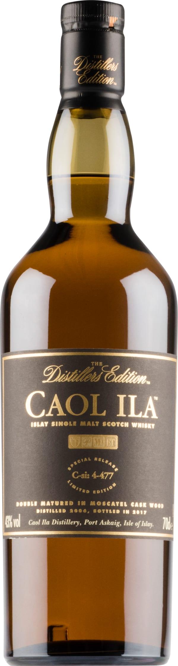 Caol Ila Distillers Edition 2017 Single Malt