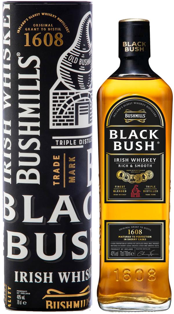 Bushmills Black Bush gift packaging