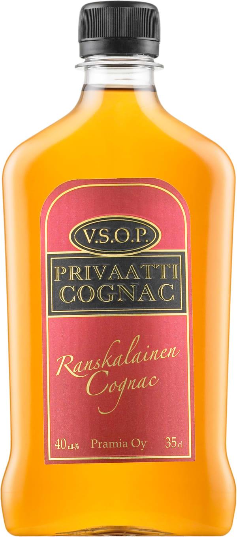Privaatti Cognac VSOP muovipullo