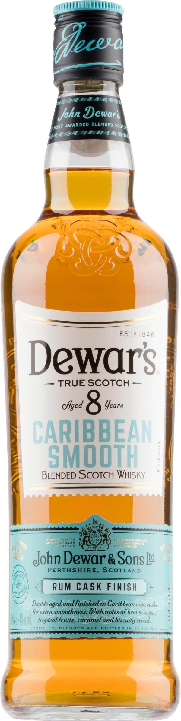 Dewar's Caribbean Smooth Aged 8 Years
