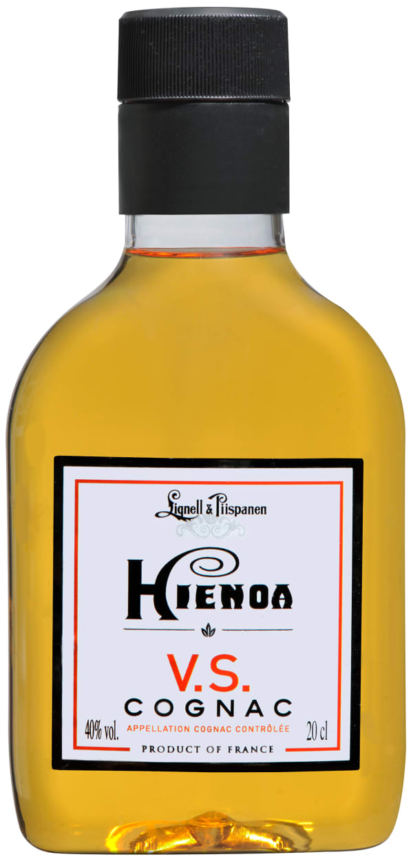Hienoa Cognac VS plastic bottle