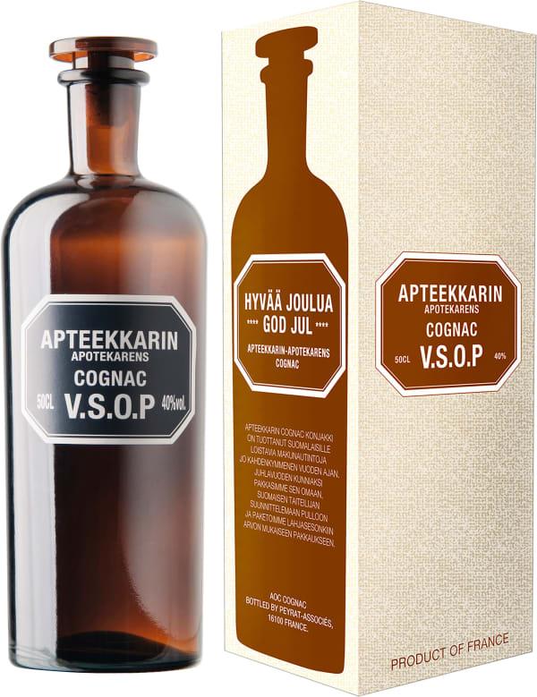 Apteekkarin Cognac VSOP gift packaging