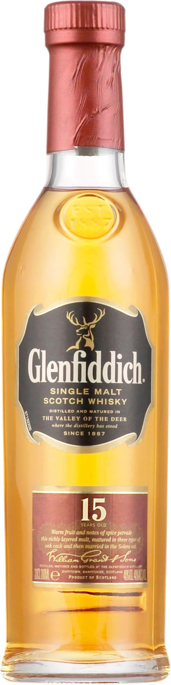 Glenfiddich 15 Year Old Single Malt