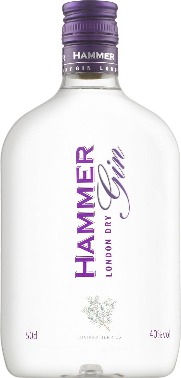 Hammer London Dry Gin muovipullo