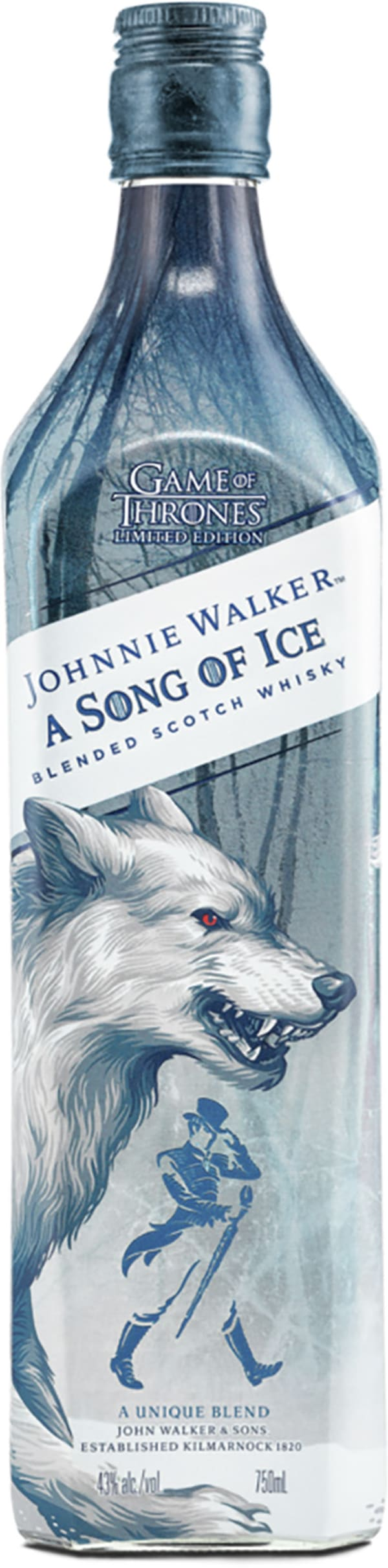 Johnnie Walker A Song of Ice Game of Thrones Limited Edition