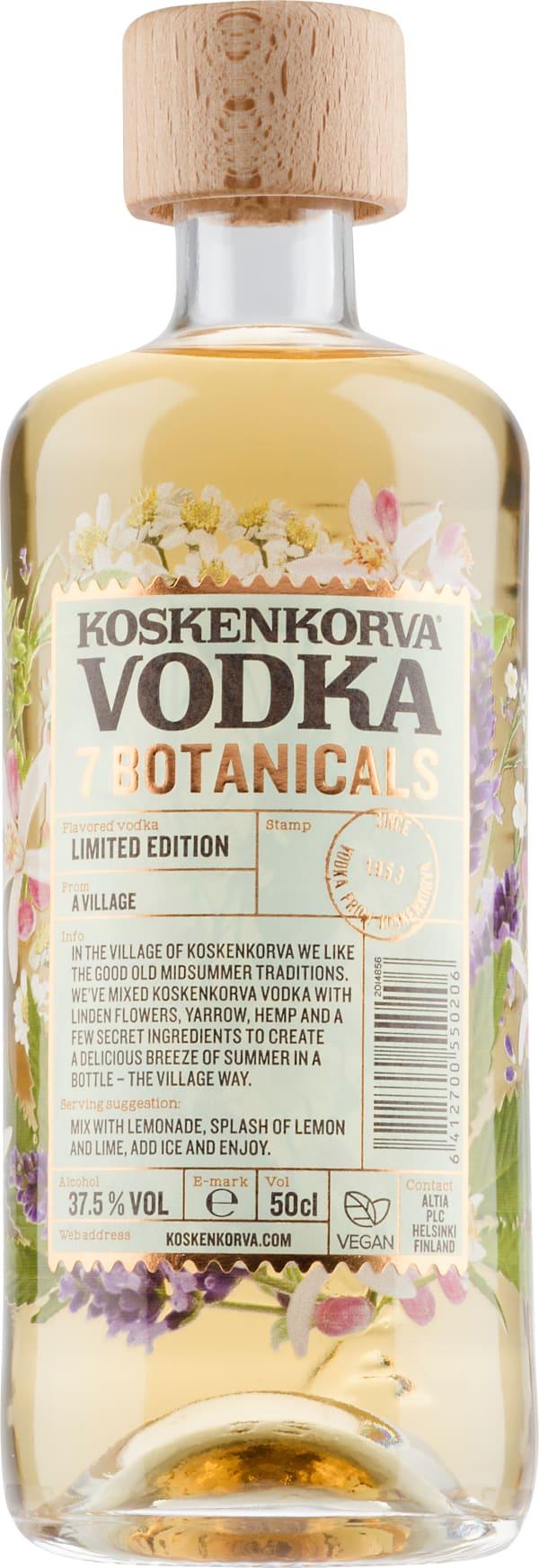 Koskenkorva Vodka 7 Botanicals