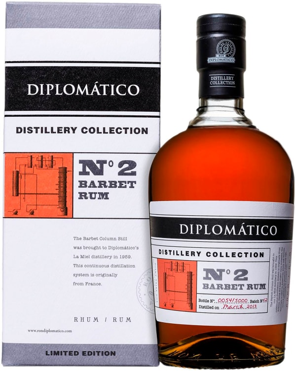 Diplomático Distillery Collection No 2 Barbet Rum