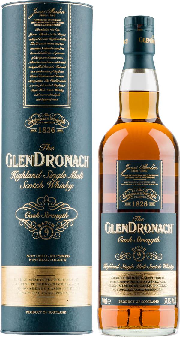 The GlenDronach Cask Strength Batch 9 Single Malt