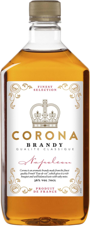 Corona Finest Napoleon plastic bottle