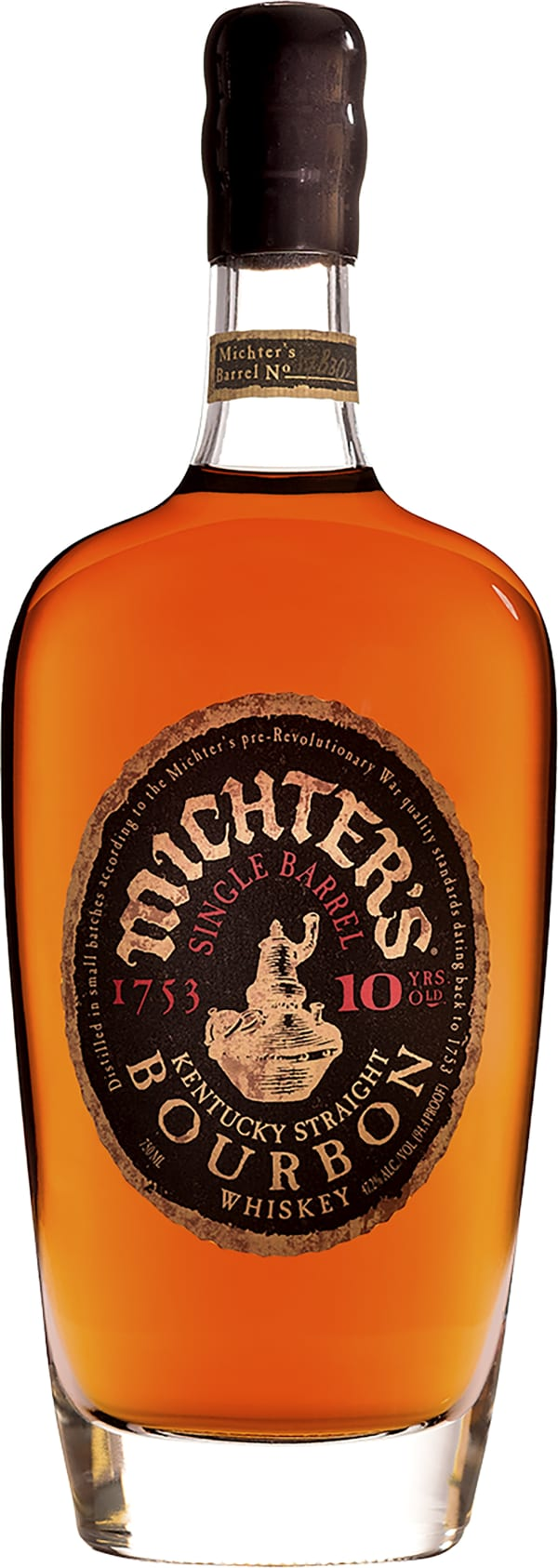 Michter's Single Barrel 10 Year Old Kentucky Straight Bourbon