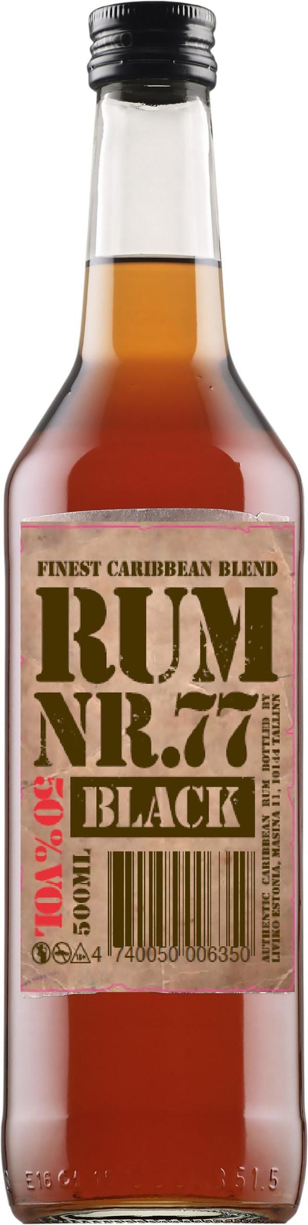 Rum Nr. 77 Black