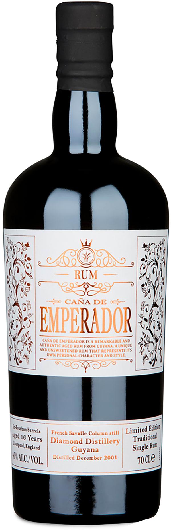 Caña de Emperador 16 Year Old Guyana Rum