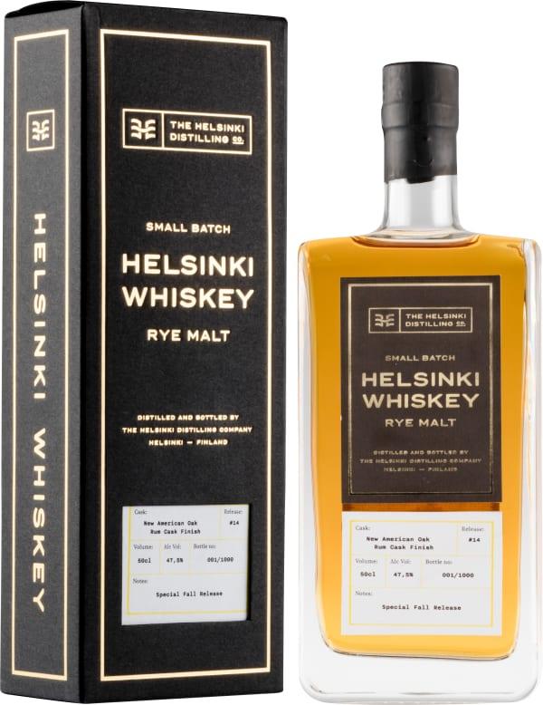 Helsinki Whiskey Release #14 Rum Cask Finish Rye Malt
