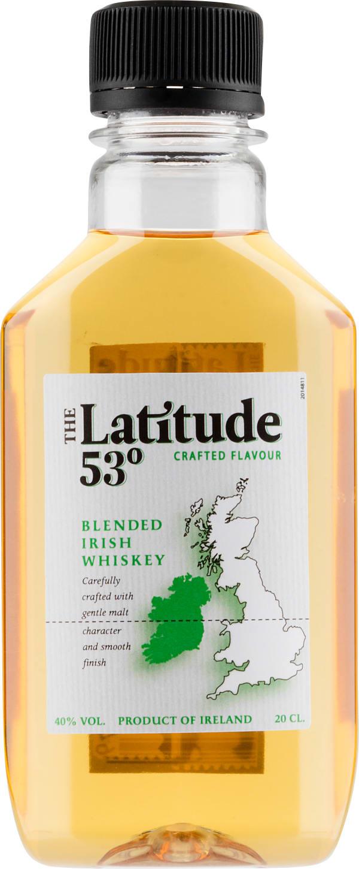 The Latitude 53° plastic bottle
