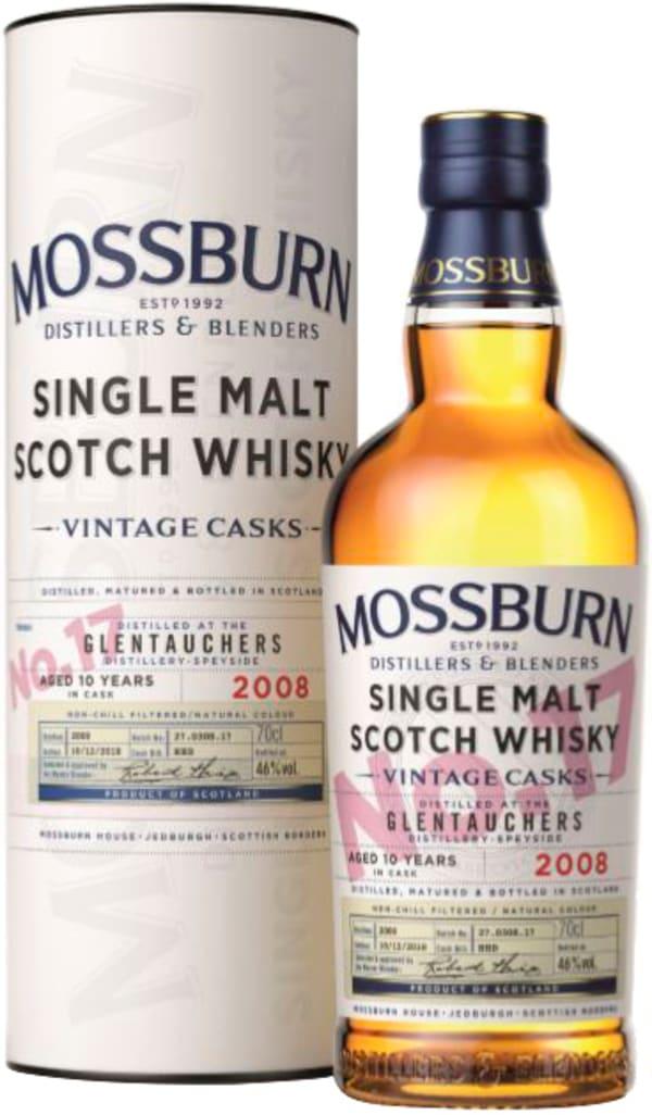 Mossburn Glentauchers 2008 Single Malt
