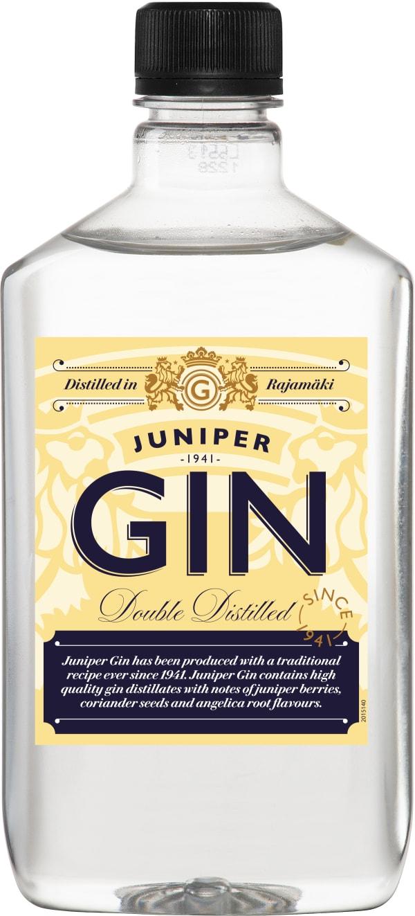 Juniper Gin muovipullo