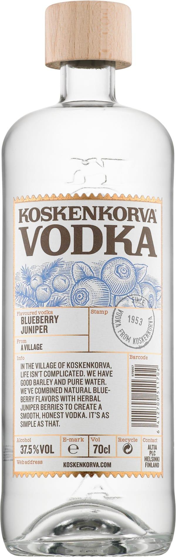 Koskenkorva Vodka Blueberry Juniper