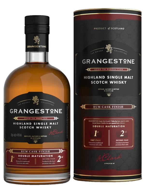 The Grangestone Highland Rum Cask Finish Single Malt