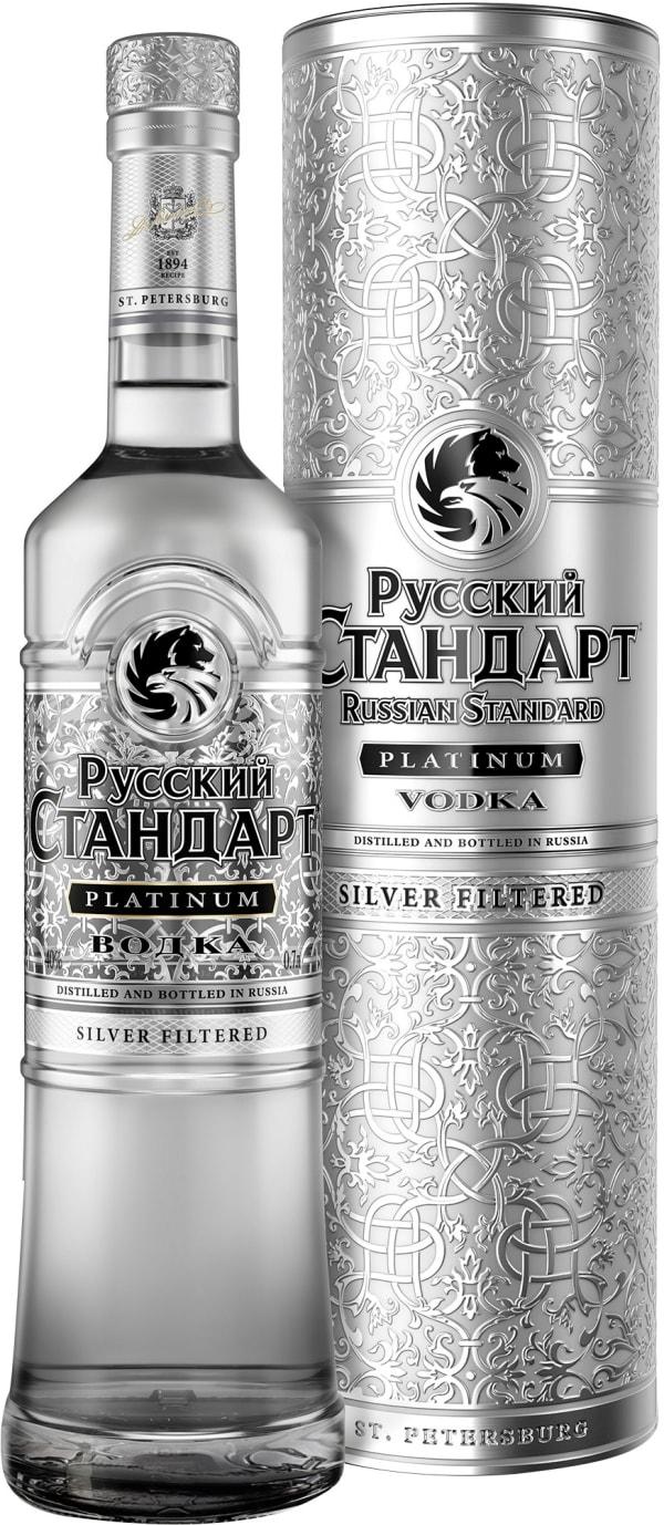Russian Standard Platinum Vodka presentförpackning