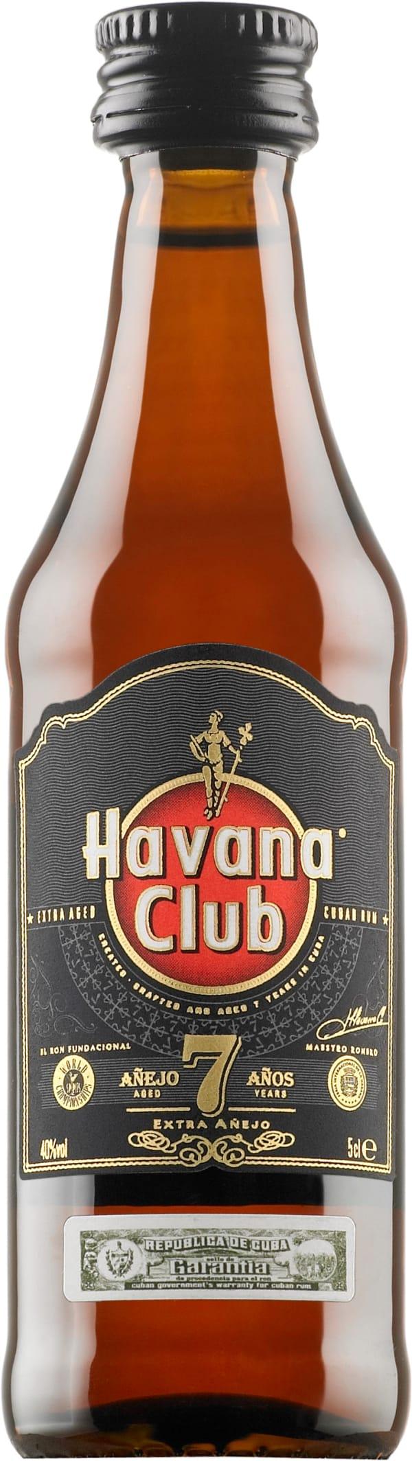 Havana Club Añejo 7 Años plastic bottle