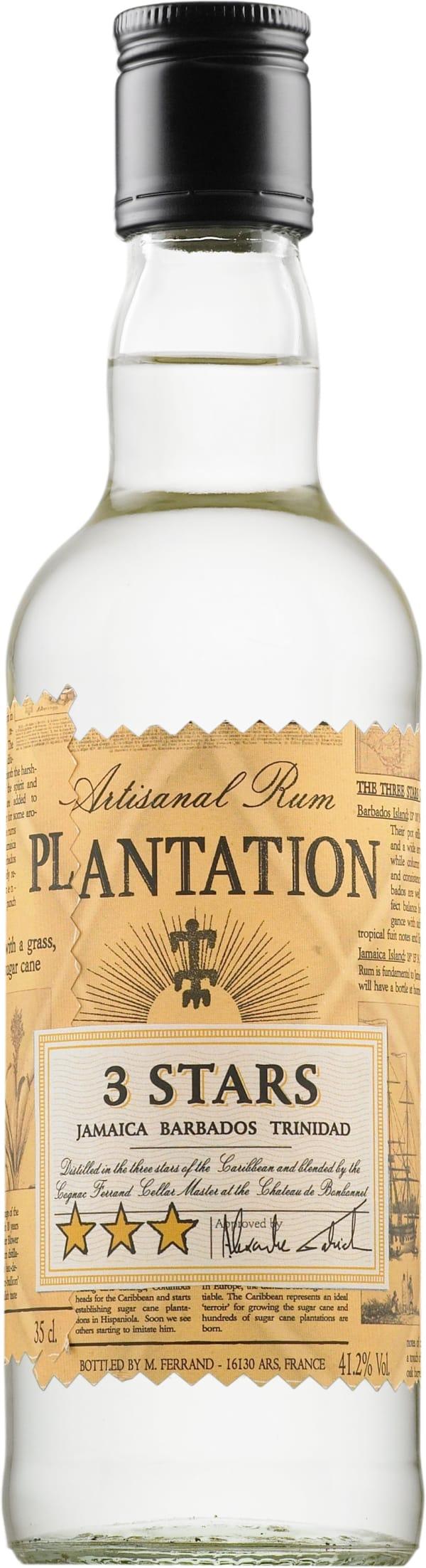 Plantation 3 Stars Silver