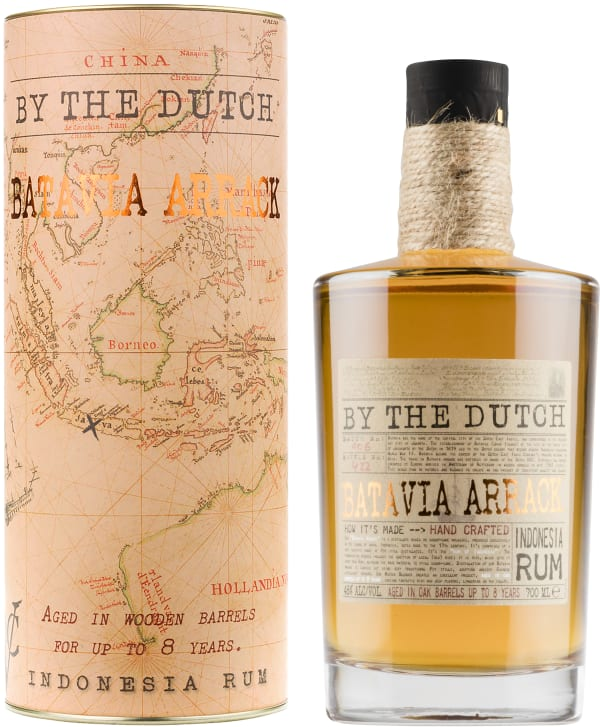 By the Dutch Batavia Arrack Indonesia Rum