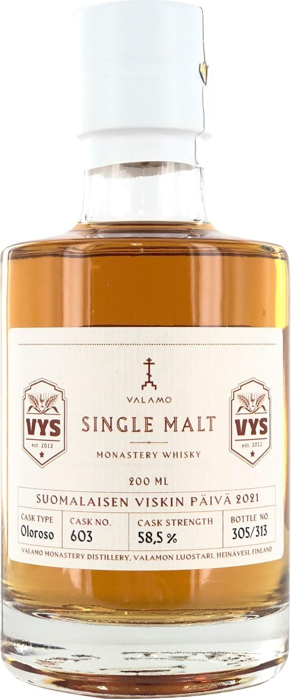 Valamo Monastery Whisky Single Cask 603 Single Malt