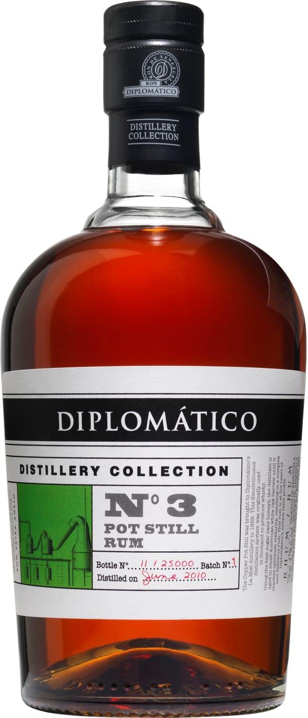 Diplomático Distillery Collection No 3 Pot Still Rum