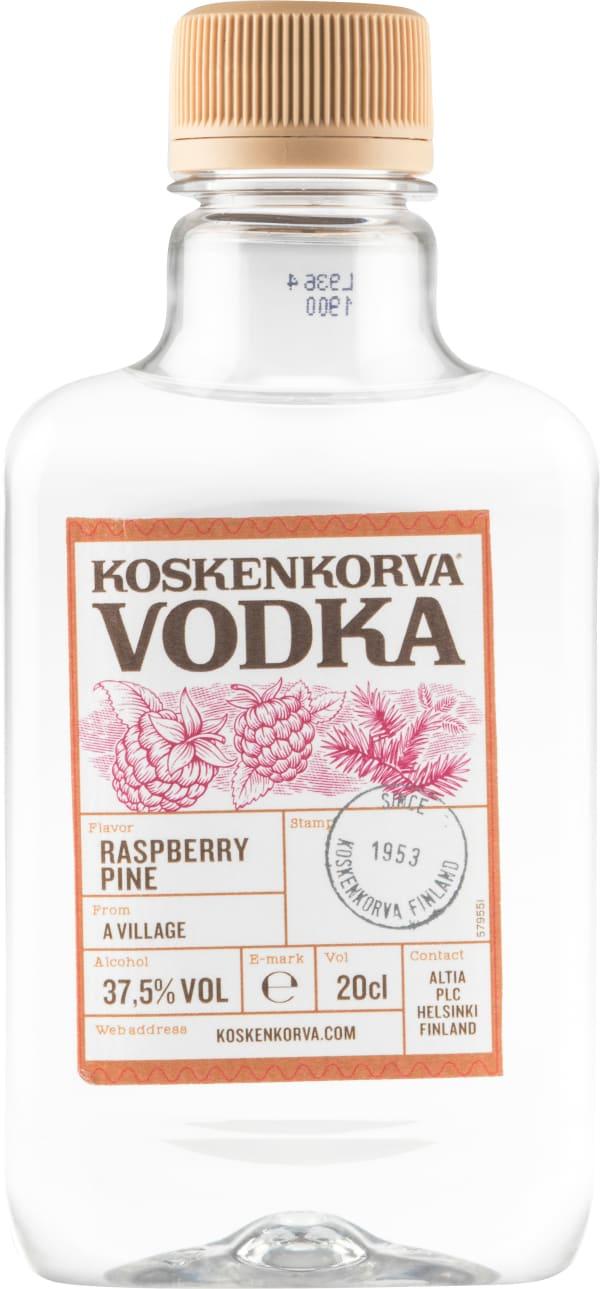 Koskenkorva Raspberry Pine plastic bottle