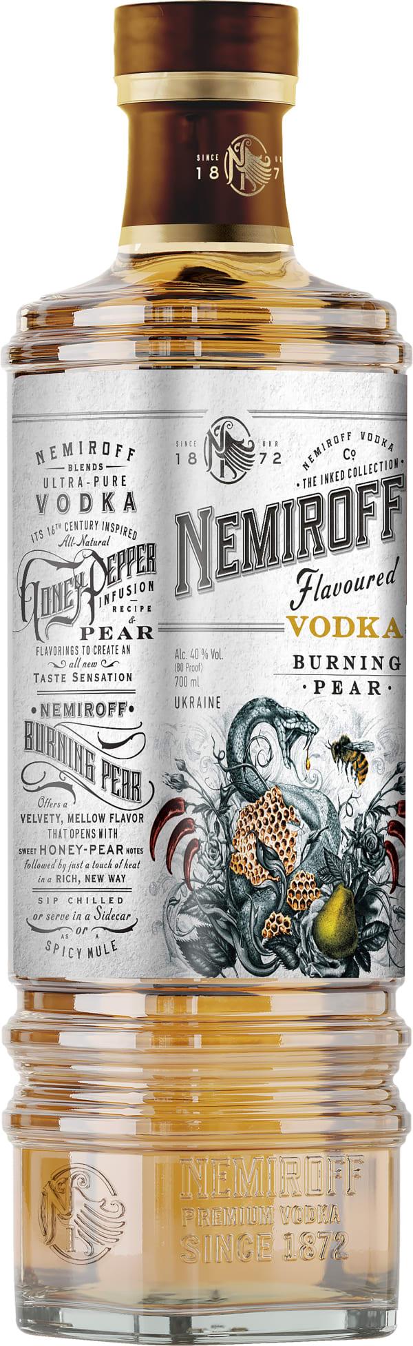 Nemiroff Flavoured Vodka Burning Pear