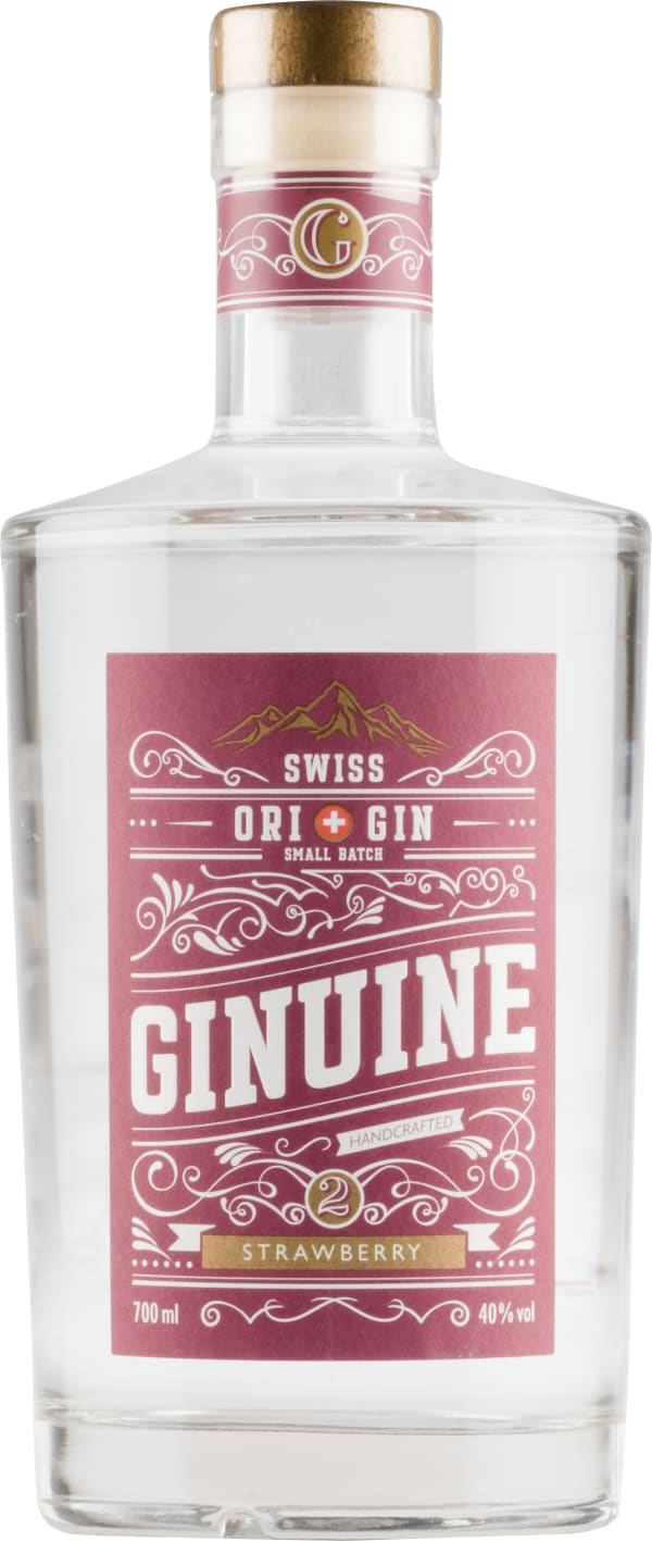 Ginuine Swiss Gin Strawberry